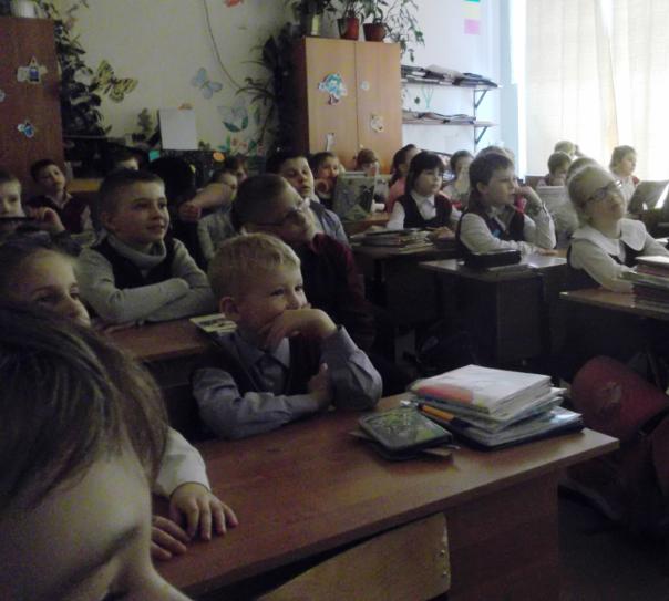 встреча с Н.Д. Овечкиной в школе №75 г. Черноголовка